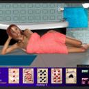3D video strip poker
